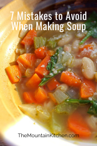 Soup is pretty simple to make, but requires care and consideration. Here are 7 mistakes to avoid when making soup this season.