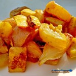 You'll love these Southern Style Yellow Summer Squash. A savory-sweet combination of tender, yellow summer squash and onions, kissed with smokey bacon. | TheMountainKitchen.com