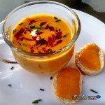Roasted Carrot-Apple soup