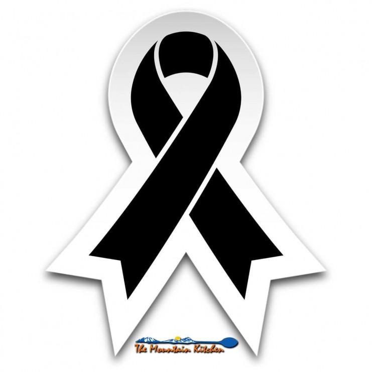 Melanoma Awareness Ribbon