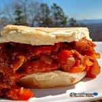 These mouthwatering Sloppy Joes are quick, easy and inexpensive to make. They are hearty, messy, and meaty this American Classic is guaranteed to satisfy anyone at your supper table. | TheMountainKitchen.com