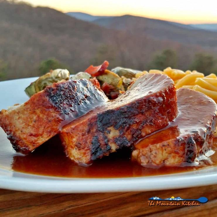 Oven-Baked BBQ Pork Tenderloin