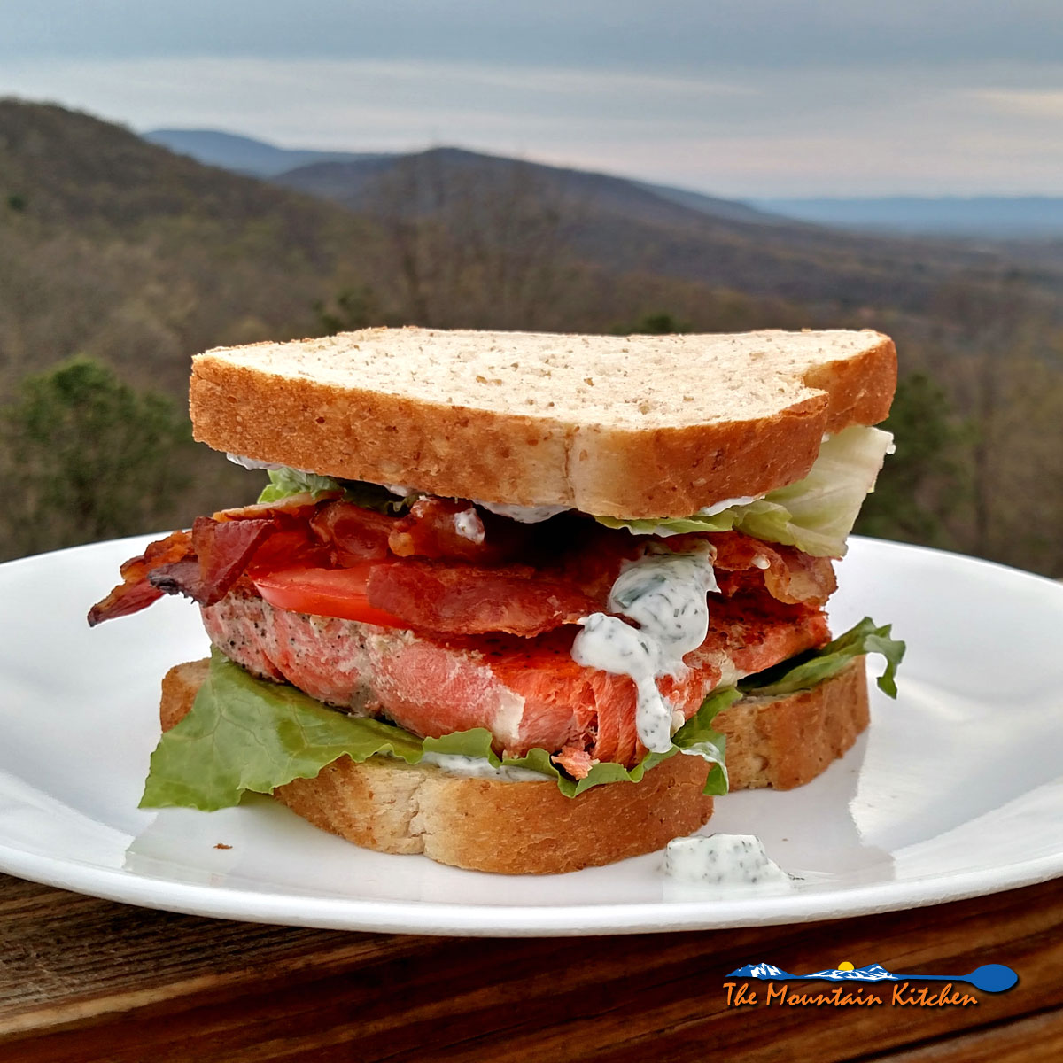 Adding salmon to a BLT sandwich turns it from a happy lunch treat to a feed me a meal at supper time. Try Salmon BLT Sandwiches tonight!
