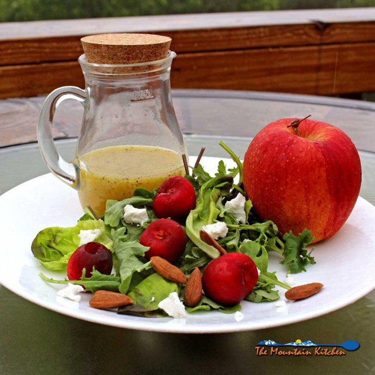 Cherry-Apple Salad With Orange Champagne Vinaigrette