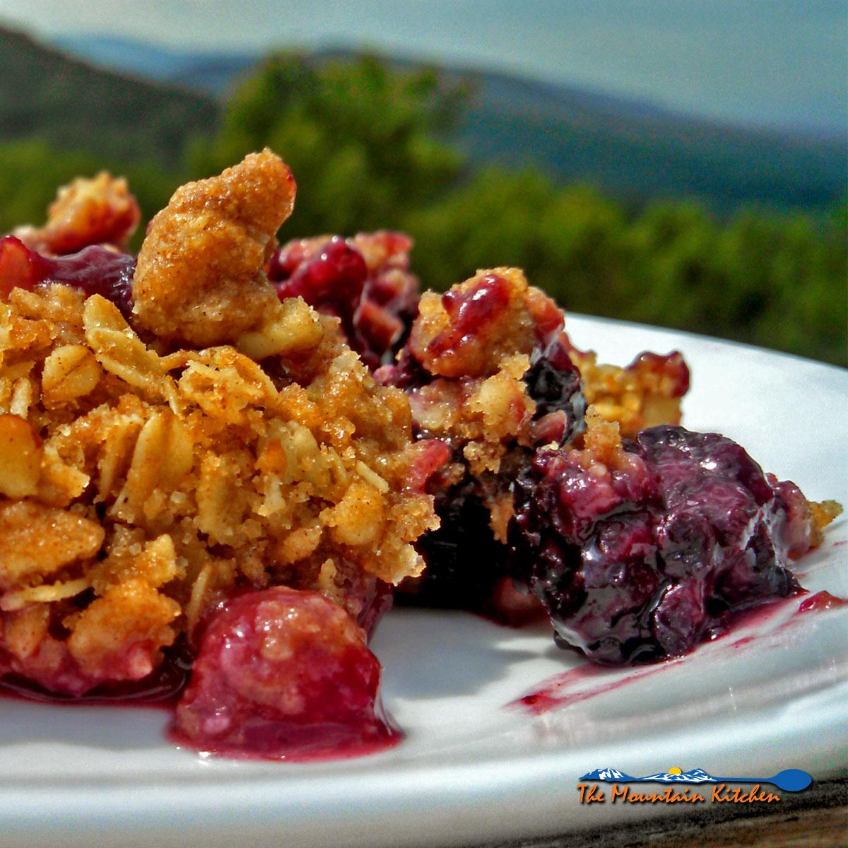 David's Blackberry Crisp With Farm Fresh Blackberries