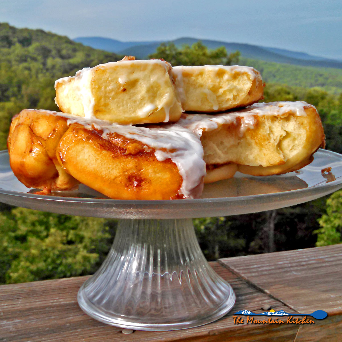 Homemade Cinnamon Rolls With Creamy Sugar Glaze