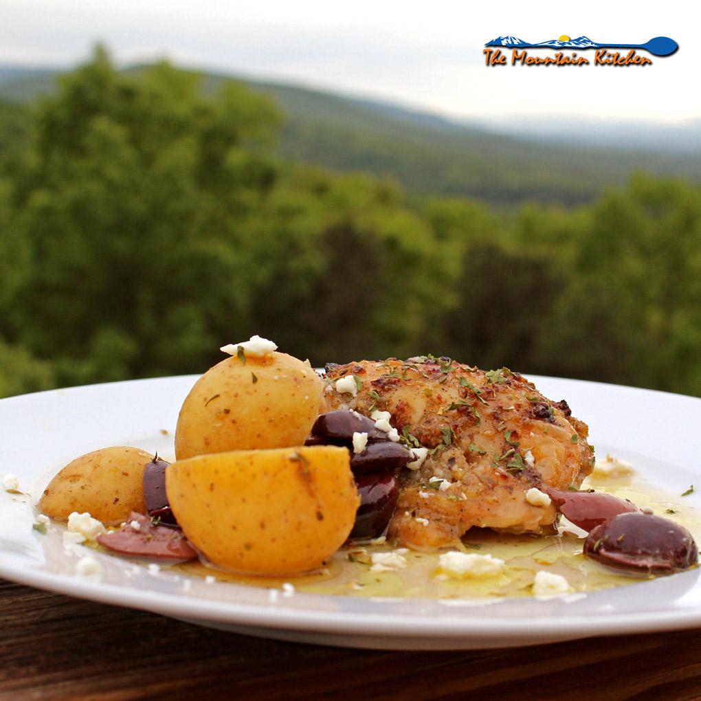 Greek-Style Lemon Garlic Chicken