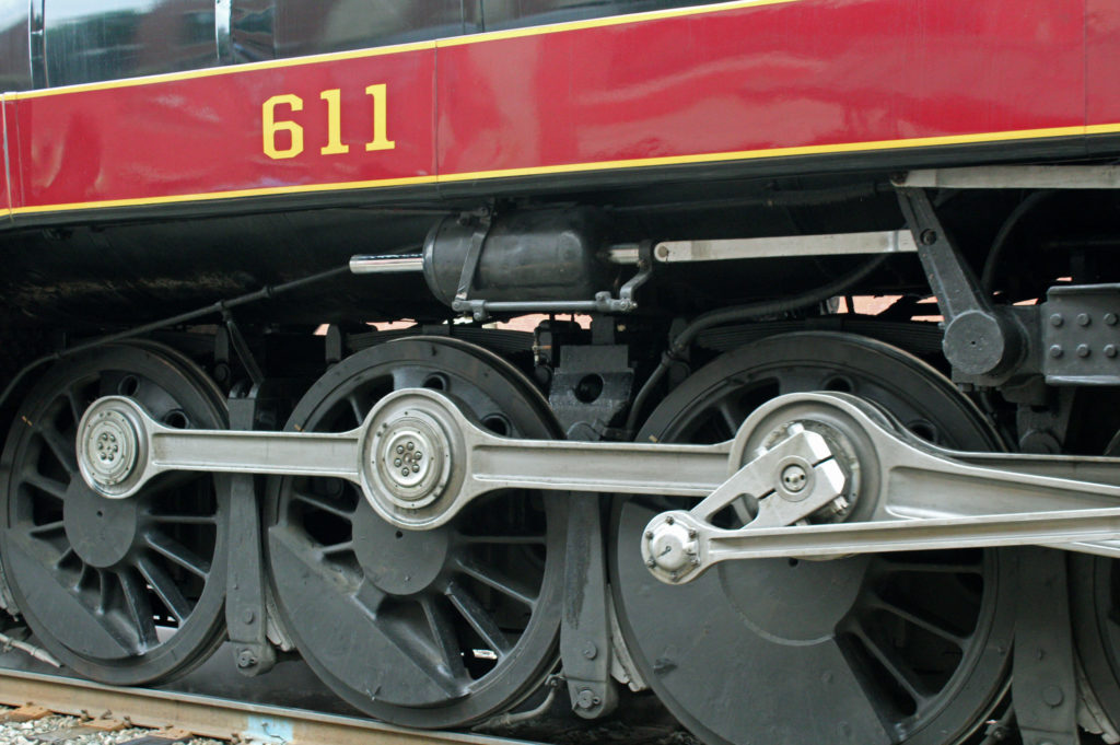 An excursion aboard the Norfolk & Western Class J 611 Steam Passenger Locomotive. No. 611. Read more about our journey on the 611 steam engine train!