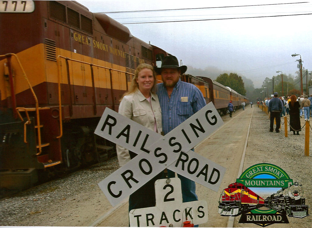 Taking a Ride on The Great Smoky Mountains Railroad