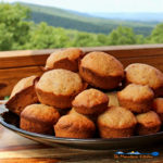 zucchini muffins on plate