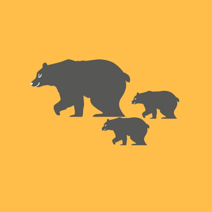 Bears are all part of this #mountainlife   TheMountainKitchen.com