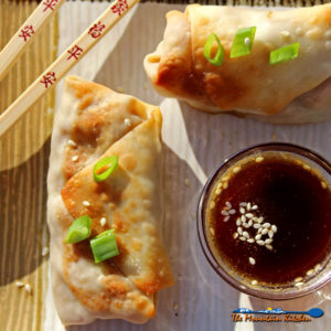 Baked Vegetable Egg Rolls {A Meatless Monday Recipe (Revisited)