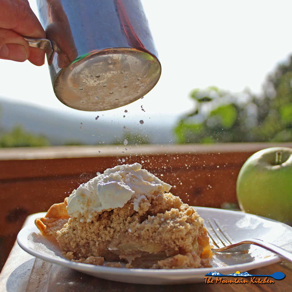 The Best Apple Crumb Pie Ever