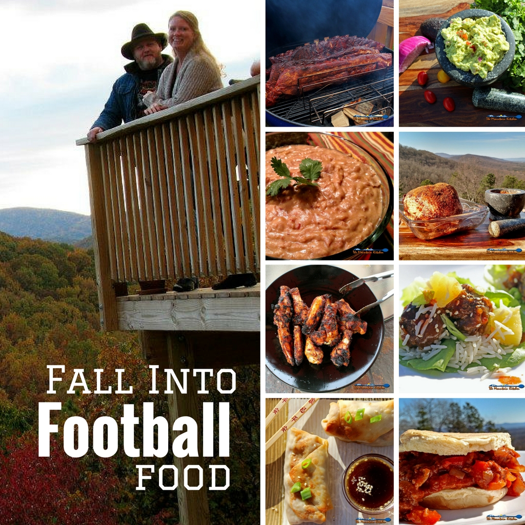 You don't have to like football to like the food! Fall into football food! | TheMountainKitchen.com