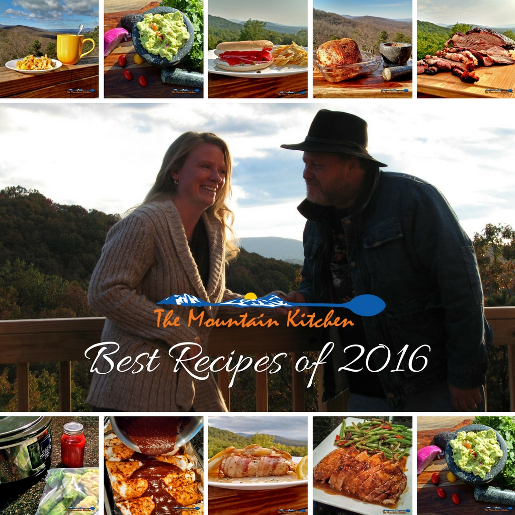 The end of the year is a time of reflection and we wanted to see the most popular recipes from The Mountain Kitchen. Here are the best recipes of 2016!