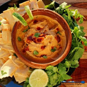 Chipotle-Lime Hummus