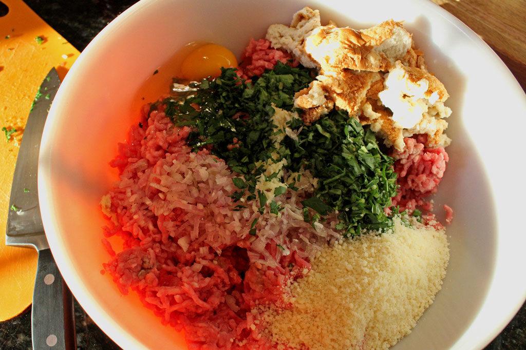 ingredients in mixing bowl