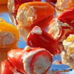 zesty cheese-stuffed mini peppers