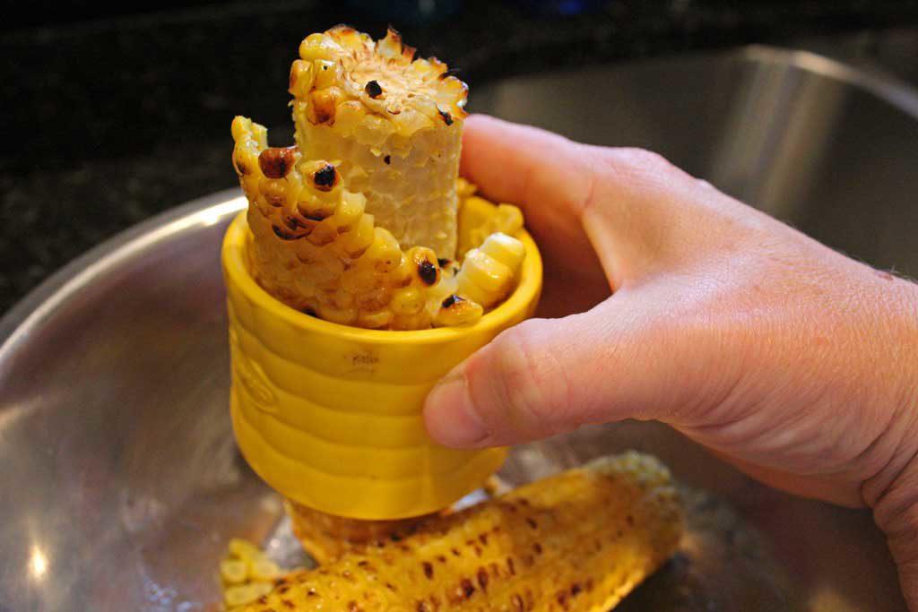 corn shredder shredding corn