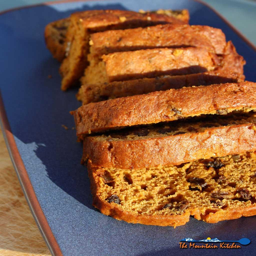 Pumpkin Cinnamon Bread