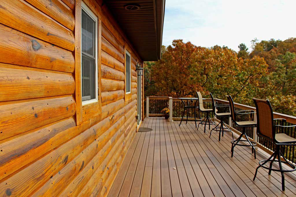 The Spivey Deck Project 2017: Sharing before and after shots and a video tour! We look forward to using our new outdoor space for many years to come! | TheMountainKitchen.com