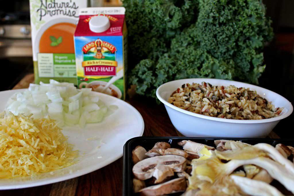ingredients to make casserole