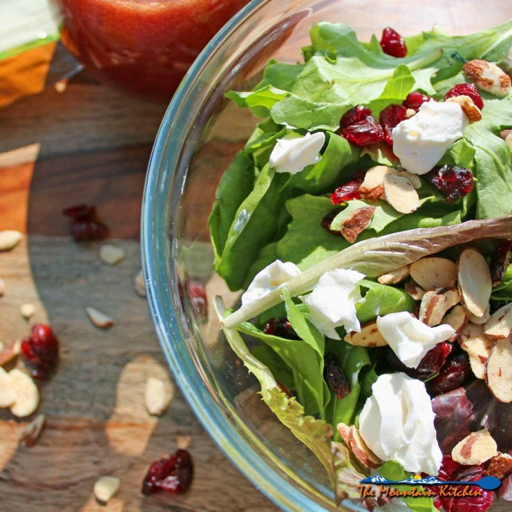 10-Minute Cranberry Almond Salad