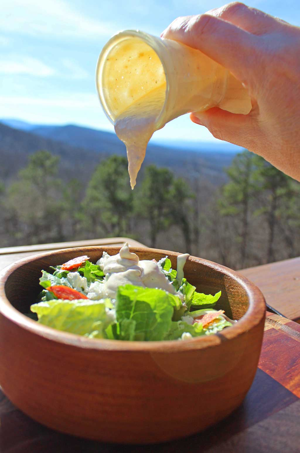This creamy Caesar dressing is packed with big bold flavor.It's creamy, smooth and will turnanyone into a Caesar salad fan! Learn how to make your own!
