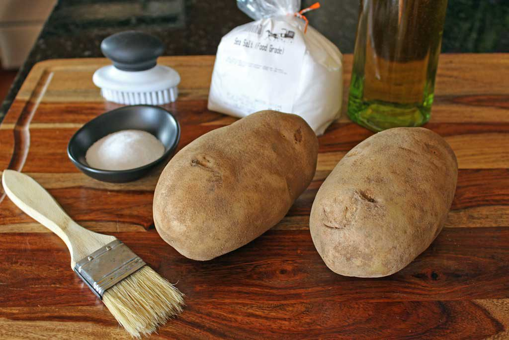 potatoes and things needed for recipe