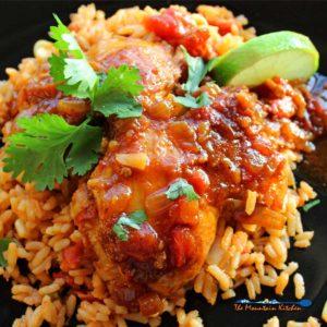 Mexican Deviled Chicken | Pollo a la Diabla