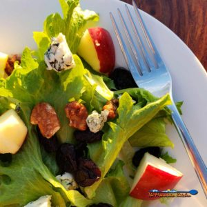 Apple Pecan Blue Cheese Salad With Dried Cherries