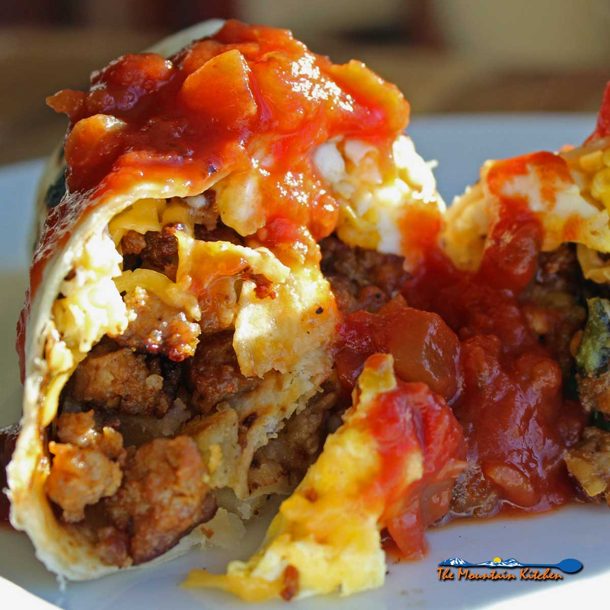 David's Breakfast Burritos