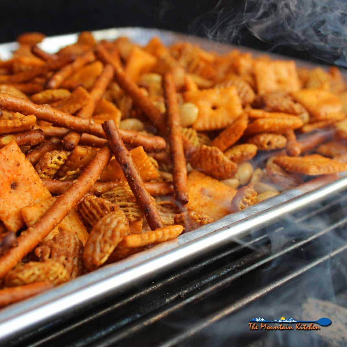 Spivey's Spicy Smoked Snack Mix