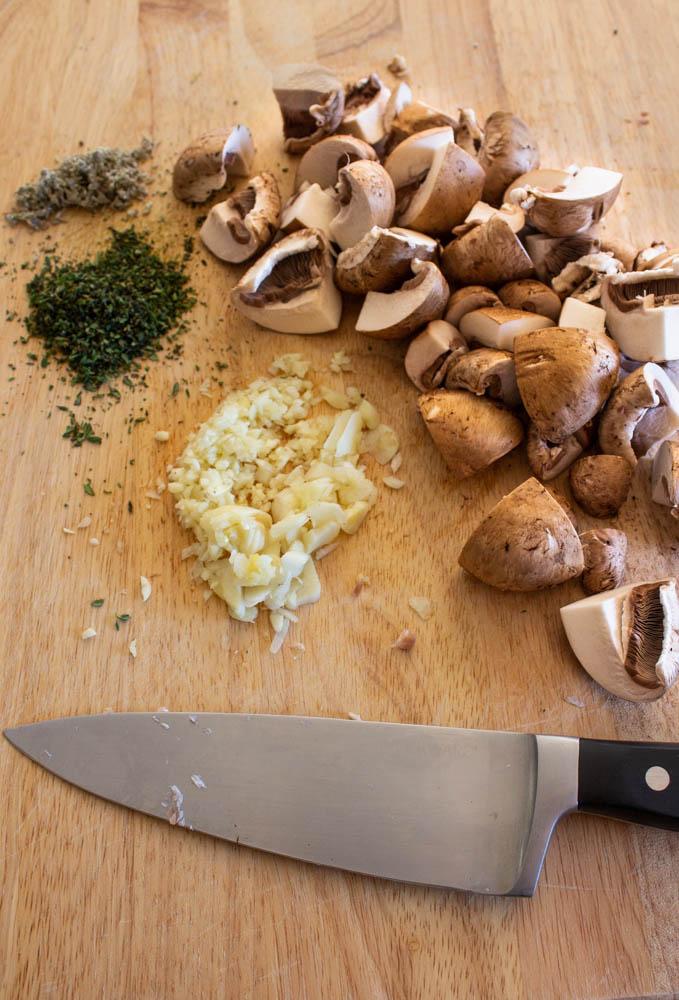 ingredients to make roasted tenderloin