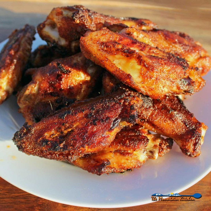 Tender juicy baked chicken wings coated in a mouthwatering homemade dry rub. Quick and easy, naturally gluten-free and perfect for health-conscious eaters.