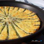 crustless asparagus ricotta quiche