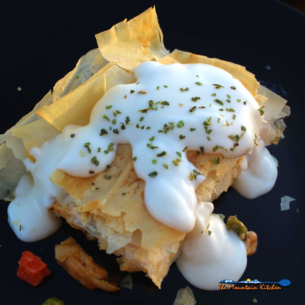 Healthy Chicken Pot Pie With Phyllo
