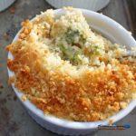 Mini cheesy broccoli casseroles