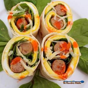 Breakfast Roll-Ups {Breakfast on the go!