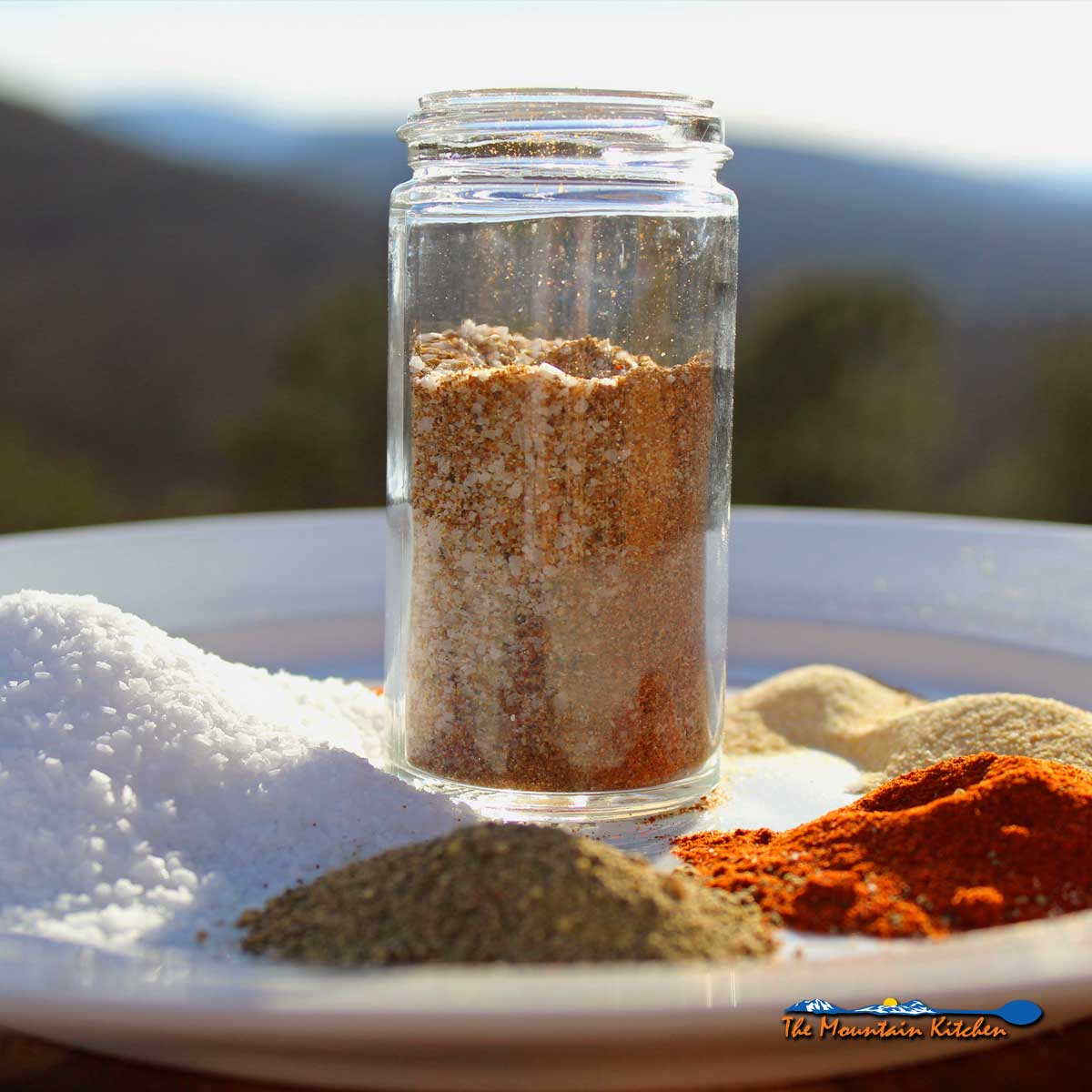 seasoned salt in a jar