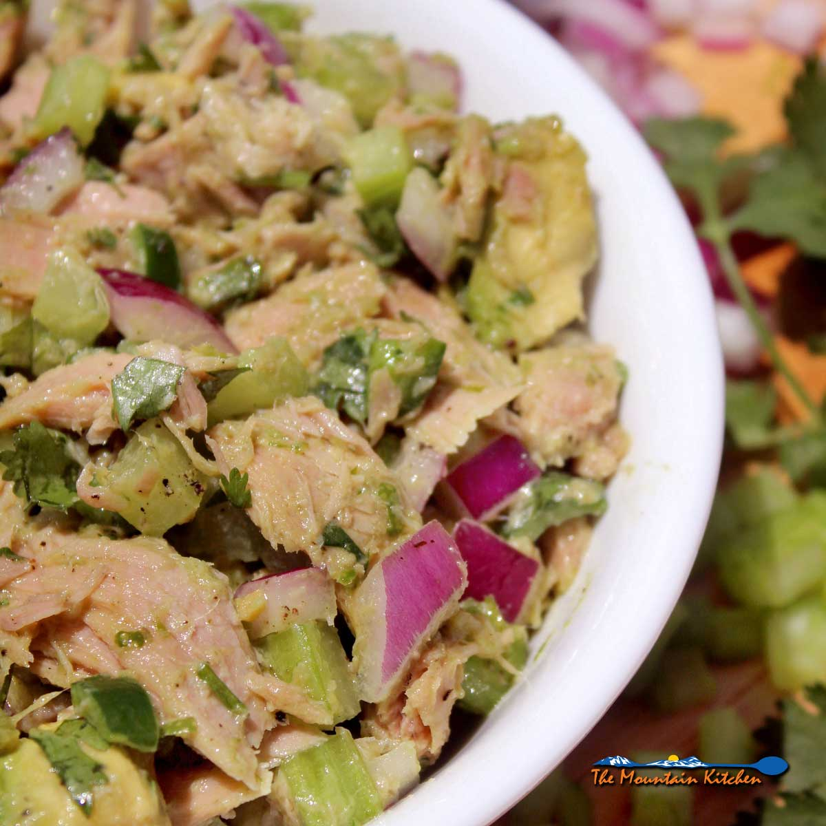 Easy Avocado Tuna Salad