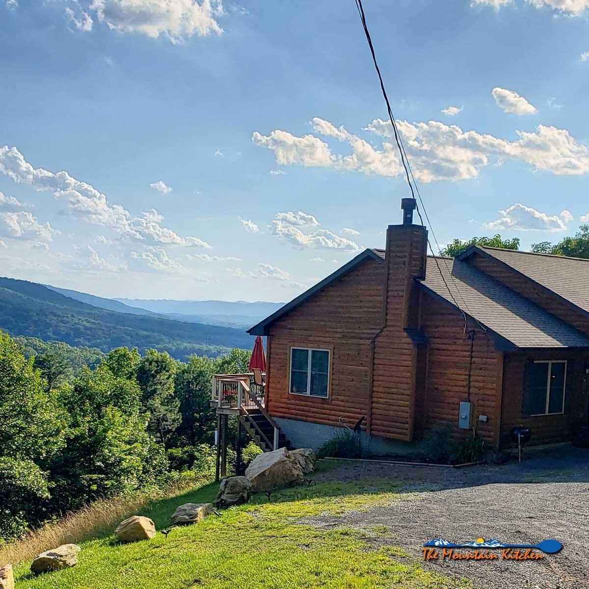 our mountain home