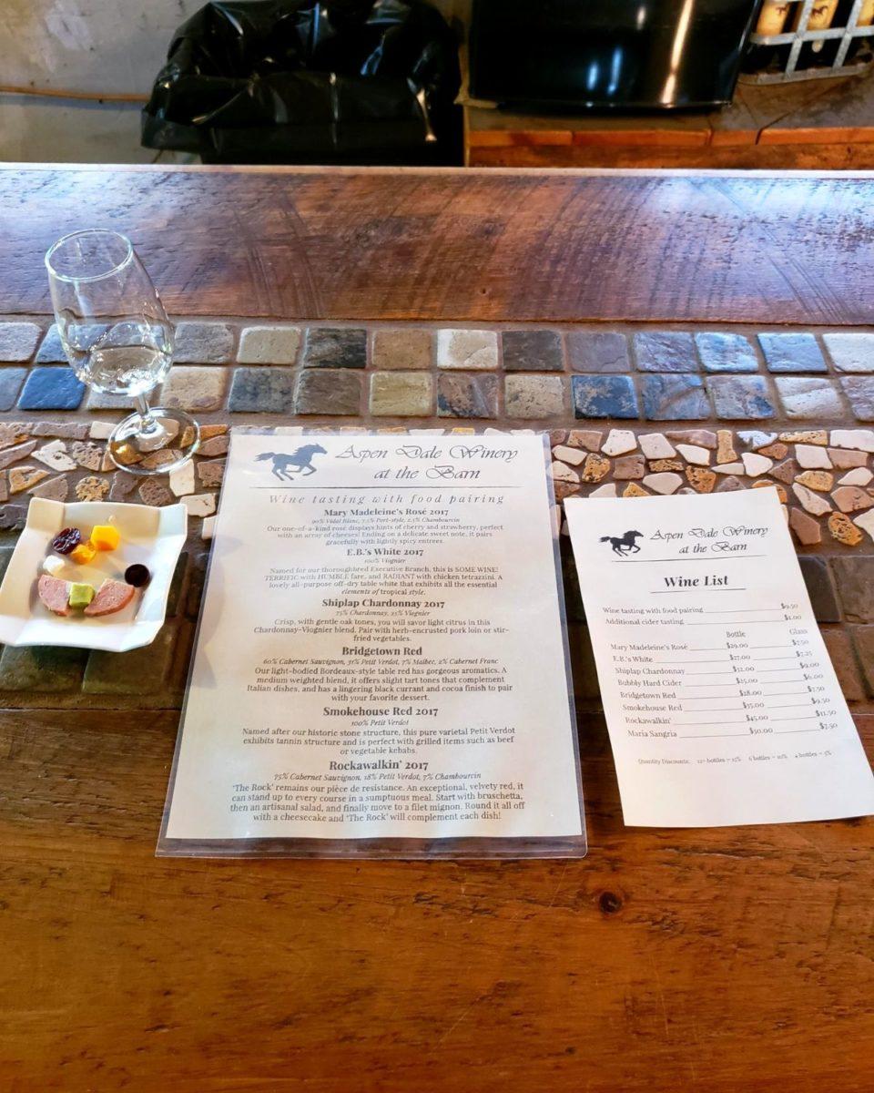 tasting menus with food pairing