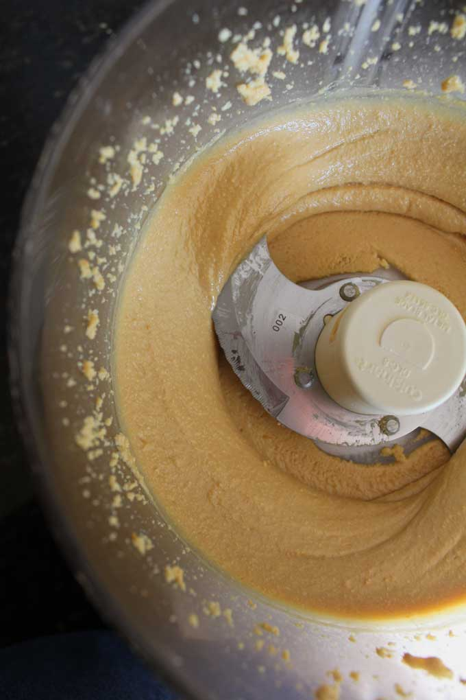 smooth and creamy peanut butter
