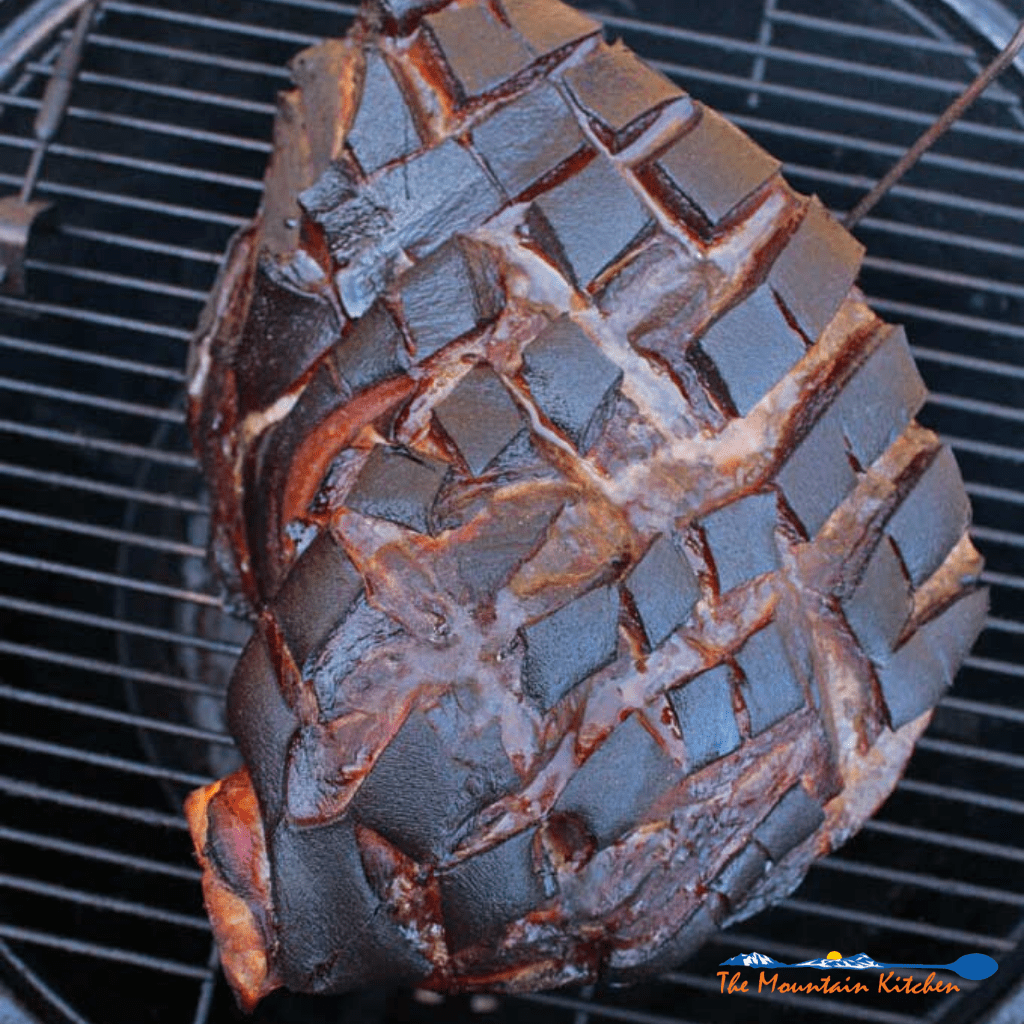 brined smoked pork shoulder