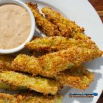 air-fried dill pickles