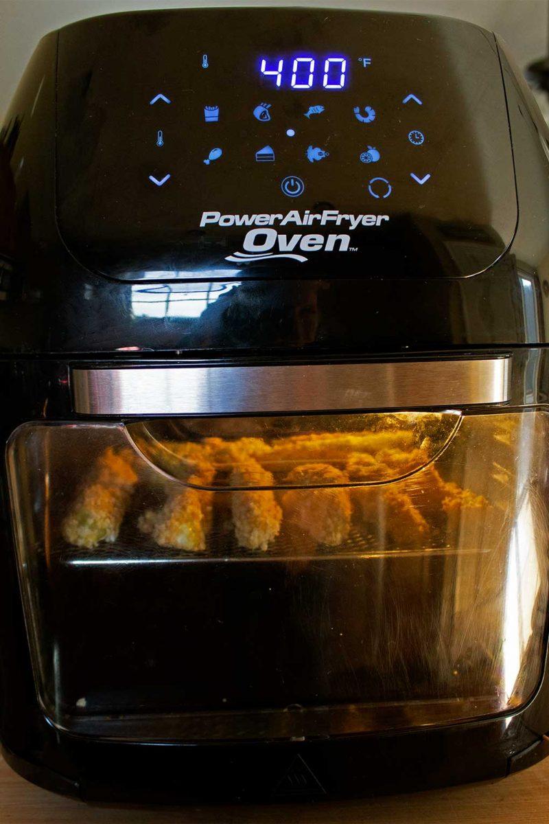 air-fryer cooking pickles