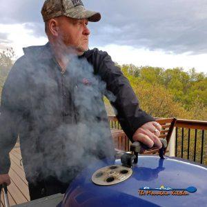 TRASH TREASURE SMOKER {How David's Hobby Became A Passion