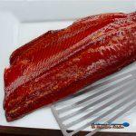 smoked salmon with honey glazed ready to eat