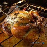garlic herb-butter roasted chicken